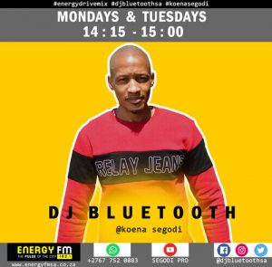DJ Bluetooth – Energy FM Drive Mix (31 August 2021)