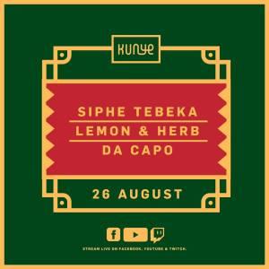 Siphe Tebeka – Kunye Live Mix (26 August 2021)